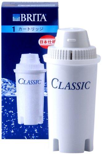 【数量限定】BRITA ( ブリタ ) ポット型浄水器CLASSIC ( クラシック ) 交換用カートリッジ 1個入り ( 4006387005337 )※無くなり次第終了