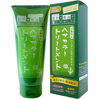 Hair light brown horse oil and Sanwa international trade tangle together buy bargain (with seaweed and horse oil-friendly hair) 200 g × 48 points set!