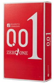 【令和・ステイホームSALE】オカモト ゼロワン 3個入りパック 薄さ0.01ミリ驚異のスキン ( コンドーム 避妊具 001 ) ( 4547691749192 )