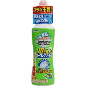 【限定特価】ジョンソンスクラビングバブル強力トイレクリーナー400G本体(トイレ用洗浄剤掃除)(4901609005440)