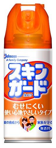 【決算セール】ジョンソン スキンガード 100ml 無香料 医薬部外品 エアゾールタイプの虫よけスプレー むせにくい使い心地やさしいタイプ ( 虫除けスプレー ) ( 4901609006546 )※無くなり次第終了