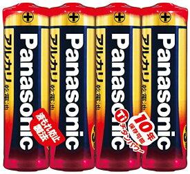 【決算セール】パナソニック Panasonic 単3形 アルカリ乾電池 4本入りパック LR6XJ/4SE ( 4984824719804 )※無くなり次第終了