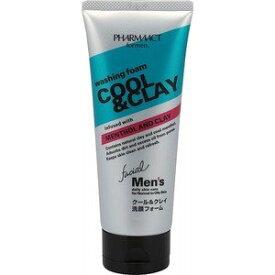 熊野油脂 ファーマアクト メンズクール&クレイ 洗顔フォーム 130G ( 4513574015913 )