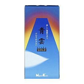【令和・ステイホームSALE】日本香堂 お線香 「 青雲ゴールド バラ詰 」 ( 4902125211018 )