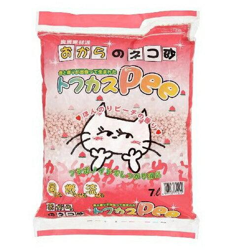 ペグテック トフカスPee 7L ( ペット用品 猫砂 トフカスピー) ( 4997438711010)