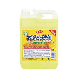 【業務用洗剤】第一石鹸西日本 ルーキーVおふろの洗剤 4L オレンジの香り( 4902050405568 )