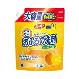第一石鹸 ルーキーおふろ洗剤 詰替 特大1400ML ( お風呂用掃除洗剤 詰め替え ) ( 4902050408002 )