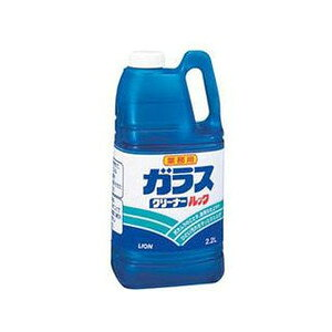 【業務用サイズ】ライオンハイジーン 業務用 液体ガラスクリーナールック 2.2L さわやかなシトラスライムの香り ( 4903301361817 )