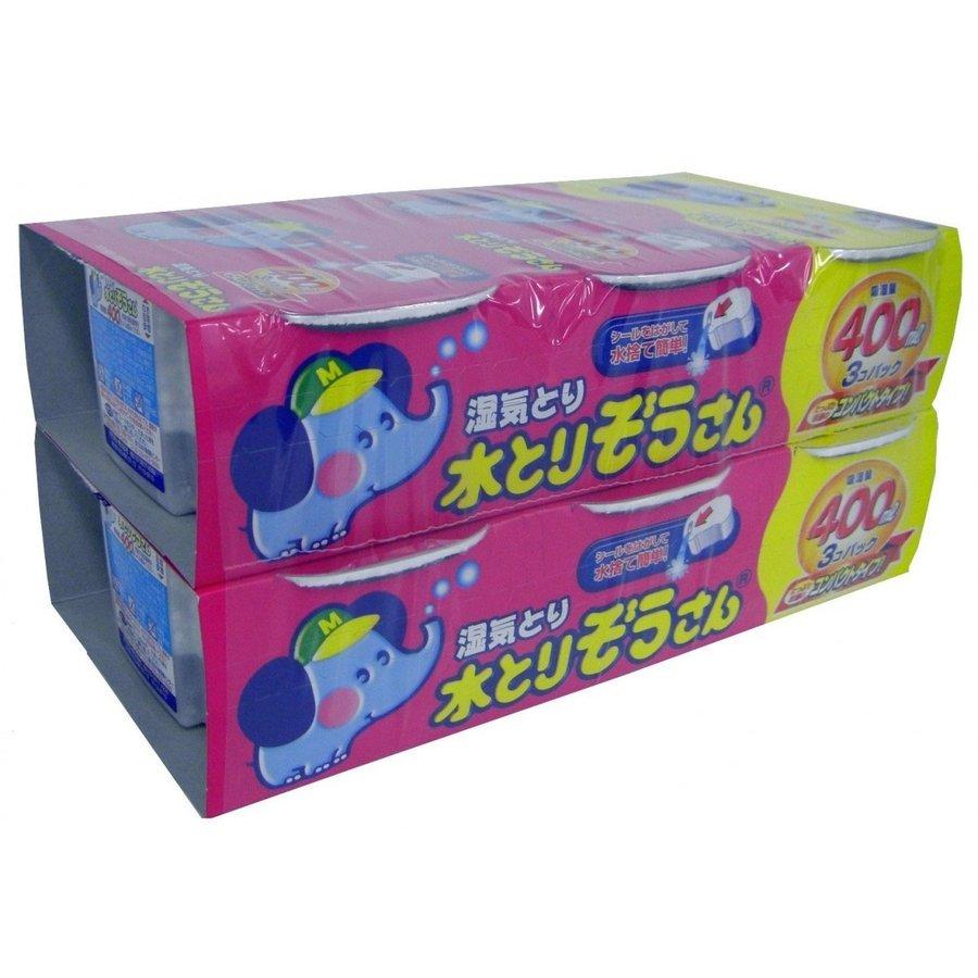 【お徳用】オカモト 水とりぞうさん 400ml×6個パック ( 除湿剤 タンス用 ) ( 4904637999750 )