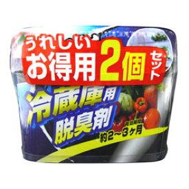 ウエ・ルコ 炭の冷蔵庫用脱臭剤2P 消臭剤 冷蔵庫・冷凍庫用 うれしいお徳用2個セット ( 4995860511970 )