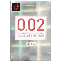 薄均勻 002 EX 清楚的規則大小 3 件套 (避孕套)