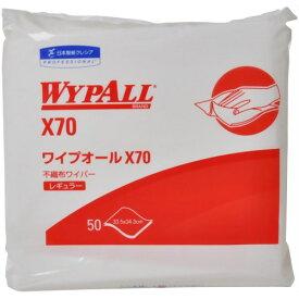 日本製紙クレシア ワイプオール レギュラー 4つ折り 50枚入り ( キッチンクロス ) ( 4901750603700 )