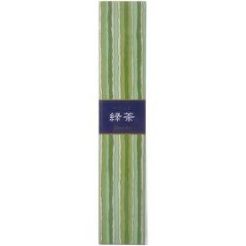 日本香堂 お香 インセンス 「かゆらぎ 緑茶 スティック40本入」 ( 4902125384538 )