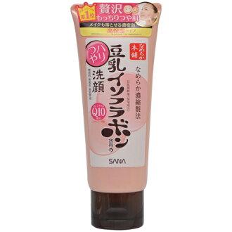 常盘化工行业 Sana nameraka 大豆异黄酮含量的异黄酮洗面奶 150 克非的香味,无色素,无矿物油 (泡沫)