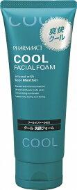 熊野油脂 ファーマアクト クール洗顔フォーム 130G 爽快&クールな香りでリフレッシュ ( 4513574019737 )