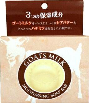 염소 우유 비누 85G 꿀을 배합한 염소 우유 비누 (미용 비누) (4571113806668)