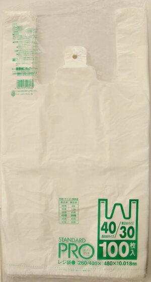 Y−6Hレジ袋NO30/40100枚