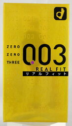 岡本00三003真實合身10個裝(避孕套超薄的0.03mm)(4547691689610)