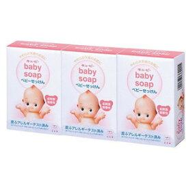 牛乳石鹸共進社 キューピー ベビー石けん 90g*3個 ( 4901525371032 )