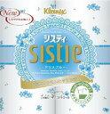 【モニター特価】日本製紙クレシア クリネックス システィ ダブル 4ロール(ブルー) トイレットペーパー (49017502…