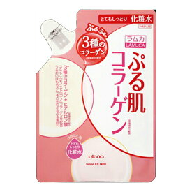 ウテナ ラムカ エモリエント ぷる肌 化粧水 とてもしっとり 詰替用 180ml 無香料・無着色 ( 4901234302419 )