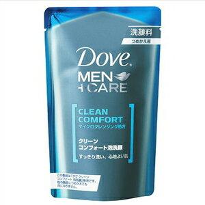 ユニリーバ ダヴ クリーンコンフォート泡洗顔 つめかえ用 110ml ( 泡洗顔料 ダヴ男性用 Dove MEN+CARE ) ( 4902111722696 )