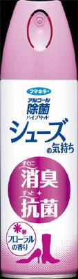 【送料無料・まとめ買い×3】フマキラー アルコール除菌 シューズの気持ち フローラルの香り 180ml ( 靴の消臭剤 ) ×3点セット ( 4902424434095 )