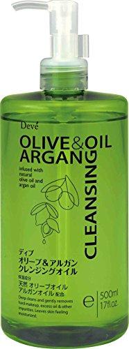 熊野油脂 ディブ オリーブ&アルガン クレンジングオイル 500ml ( ARGAN OIL クレンジングオイル ) ( 4513574022836 )