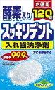 【送料込】スッキリデント 入れ歯洗浄剤 120錠 ミントの香り×12点セット ( 4900480223219 )