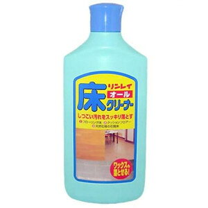 【送料込・まとめ買い×9点セット】リンレイ オール床クリーナー 500ml ワックスはくり剤としても使える住居用洗剤 ( 4903339781021 )
