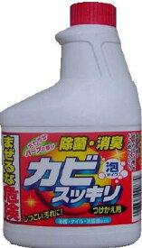 【令和・ステイホームSALE】ロケット石鹸 カビスッキリ ハーブ つけかえ用 400ml(お風呂用洗剤 詰替え)(4903367090874)