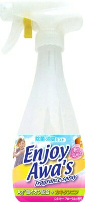 ロケット石鹸 エンジョイアワーズ 消臭スプレー シルキーフローラルの香り 本体 300ml ( 4903367303714 )