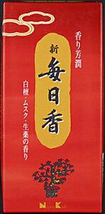 【送料込】日本香堂 新毎日香 徳用 バラ 約90g  長さ:約140mm けむりの量は『やや少ない』 仏事用お線香 #15051×80点セット まとめ買い特価!ケース販売 ( 4902125150515 )