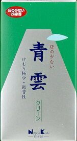日本香堂 お線香 「 青雲クリーン バラ詰 」(4902125237018)