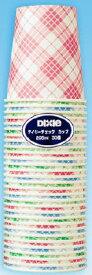 日本デキシー デイリーチェックカップ 30個入 ( 使い捨て紙コップ ) ( 4902172100402 )