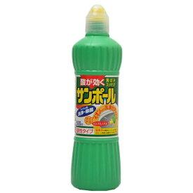 大日本除虫菊 サンポールK 500ml トイレ用洗剤 便器のふちのウラまで液がかけやすいスミズミノズル採用 ( 4987115851511 )