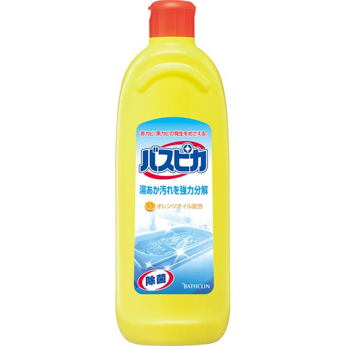 バスクリン バスピカ 500ml ヤシ油配合 浴室洗浄剤 ( 4987138200075 )