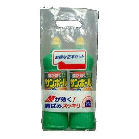 【GotoポイントUP】 【お得パック】大日本除虫菊 サンポール 500ML×2本パック 液体洗剤 トイレ用 お得な2本セット ( 4987115851610 )