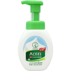 ロート製薬 メンソレータム アクネス薬用 ふわふわな泡洗顔 160ml 医薬部外品 微香性 さわやかシトラスの香り ( 4987241123629 )