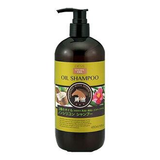 디브 3종의 오일샴푸-(마유・동백 기름・coconut oil) 본체 480 ml ( 4513574025295 )