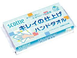 100張日本製紙CRECIA斯科蒂漂亮的完成手毛巾(4901750378806)