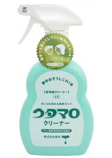 【送料無料・まとめ買い×3】東邦 ウタマロ クリーナー 400ml 本体 住居用洗剤 さわやかなグリーンハーブの香り×3点セット ( 4904766130215 )
