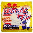 昭和紙工 ぽいっとワン 100枚 (ウンチ処理袋 中・小型犬用)( 4957434005735 )