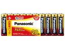 パナソニック パナソニック アルカリ乾電池 単3形 20本パック LR6XJ/20SW ( 4984824723887 )