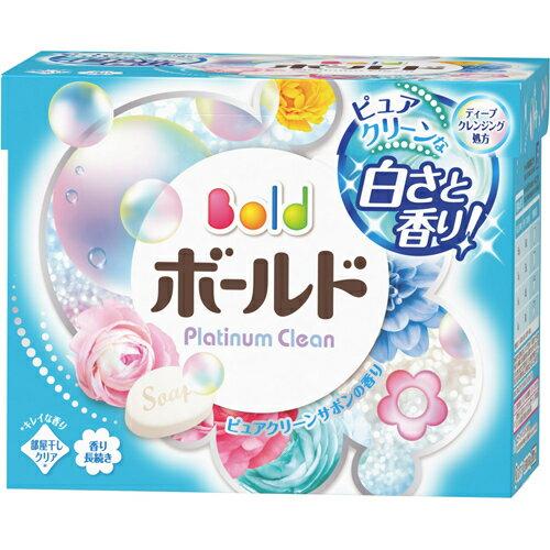 【無くなり次第終了】P&G ボールド 粉末 香りのサプリイン ピュアクリーンサボンの香り 850g 本体 ( 4902430551526 )※パッケージ変更の場合あり