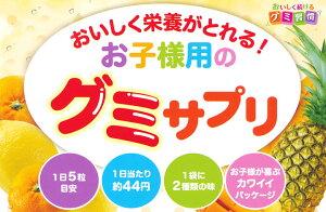 UHA味覚糖UHAグミサプリKIDSSTUDY20日分100粒入