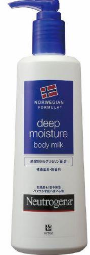 ニュートロジーナ ノルウェーフォーミュラ  ディープモイスチャー ボディミルク 250ml 本体 無香料( 乾燥肌用ボディミルク )( 4901730160032 )