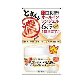 常盤薬品 サナ SANA なめらか本舗 とろんと濃いジェル オールインワンジェル 100g (豆乳ジェル 化粧品)( 4964596447907 )