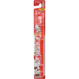 【無くなり次第終了】エビス キャラコレ ハローキティハブラシ ふつう ( 40周年デザインのキティちゃん歯ブラシ ) ( 4901221861806 )※色デザインは選べません