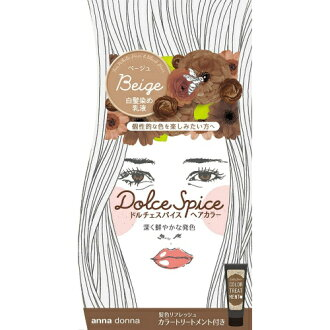 Anna Donna dolce spice hair color (for the white hair) beige
